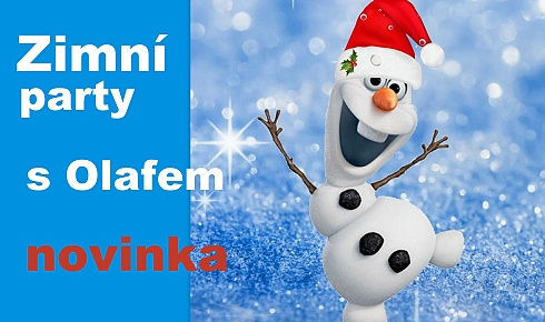 Zimni_party_s_Olafem_Frozen