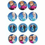 Jedl� pap�r na dort Frozen cupcakes