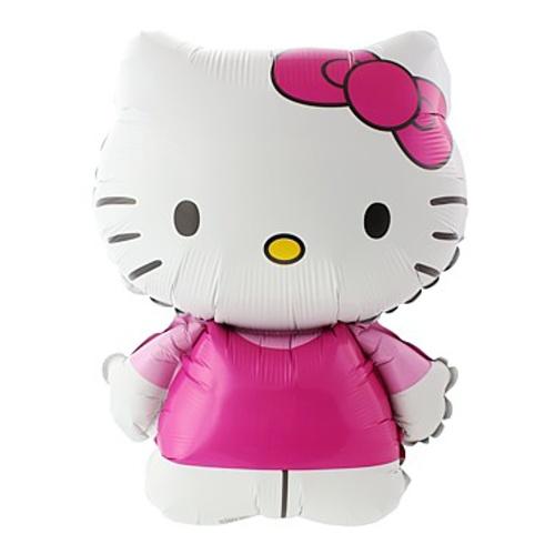 Balón fóliový Hello Kitty velká