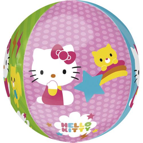 Balón fóliový koule Hello Kitty