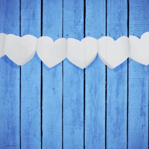 Girlanda svatební srdce 3m