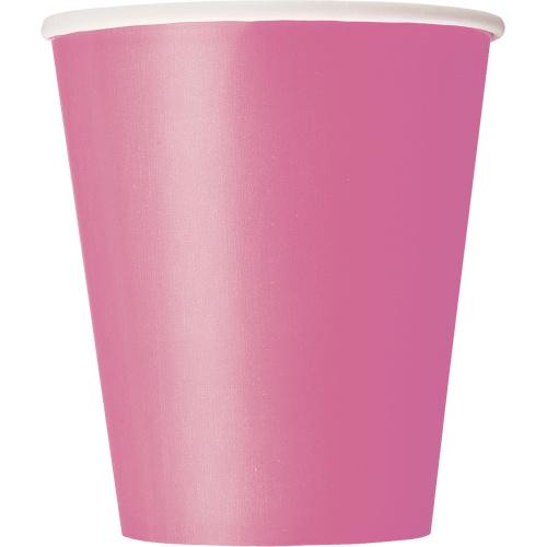 Levně Kelímky papírové Hot Pink