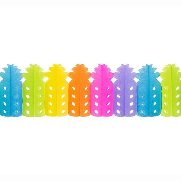 GIRLANDA barevná Ananas 3,6m