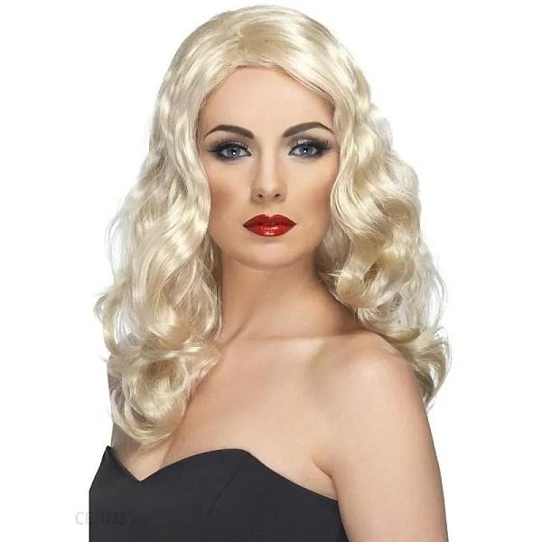 PARUKA blond vlnitá dlouhá