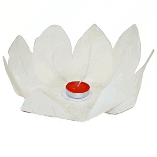 LAMPION plovoucí přání bílý