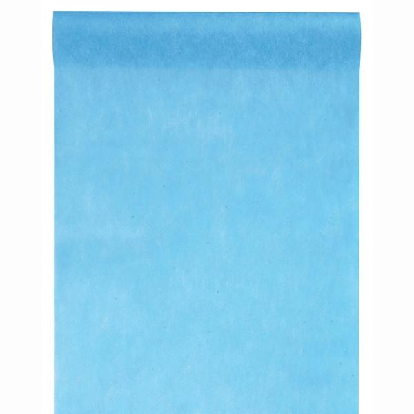 ŠERPA stolová netkaná textílie tyrkysová 30cmx24m