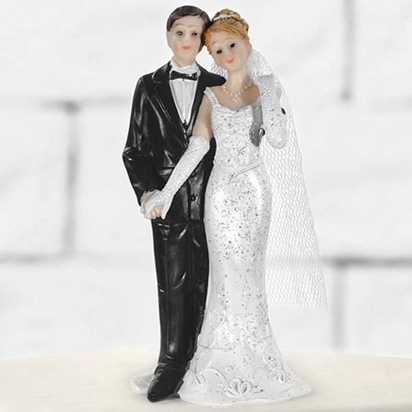 Svatební figurka Novomanželé