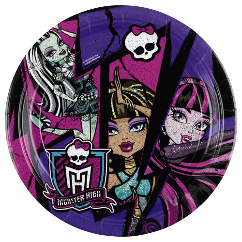 Talíře papírové Monster High