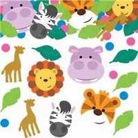 KONFETY Jungle Animals