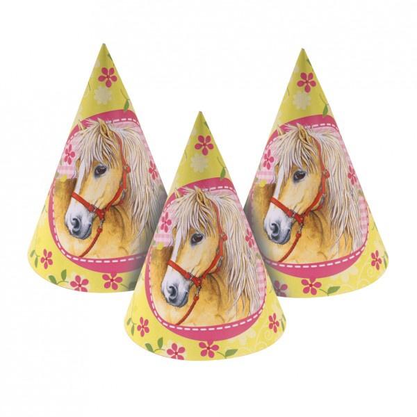 Party čepičky Koně 6ks