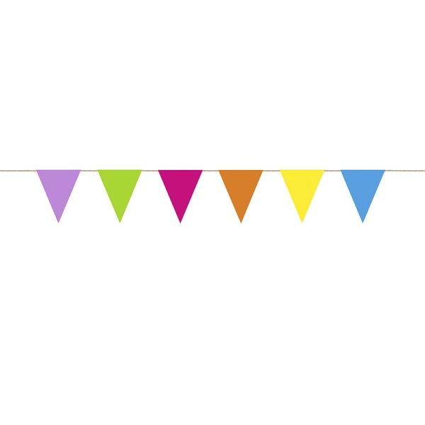 Girlanda barevná vlaječková Funny