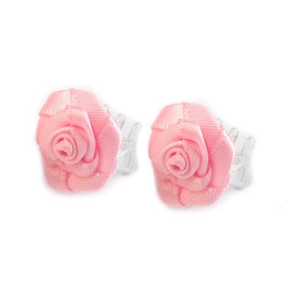 27473b76e26 Skřipec do vlasů s růžovou růžičkou - MojeParty.cz