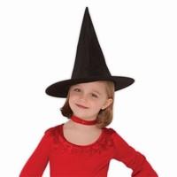 8451f4e05aa Klobouk čarodějnický dětský černý