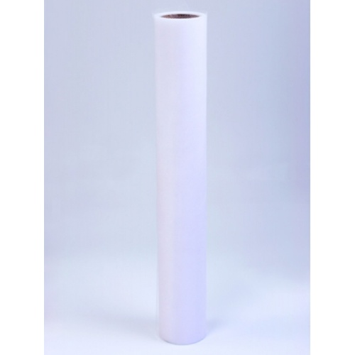 Tyl 50cm/9m bílý