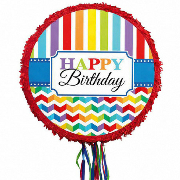 PINATA narozeninová Happy Birthday