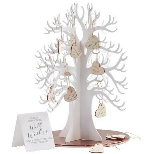 Strom Prani Svatebni Dreveny Kniha Hostu Mojeparty Cz