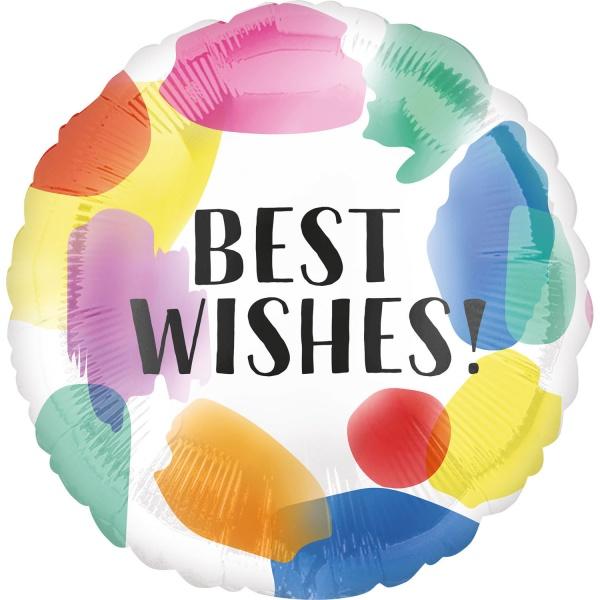 Levně BALÓNEK fóliový Best Wishes
