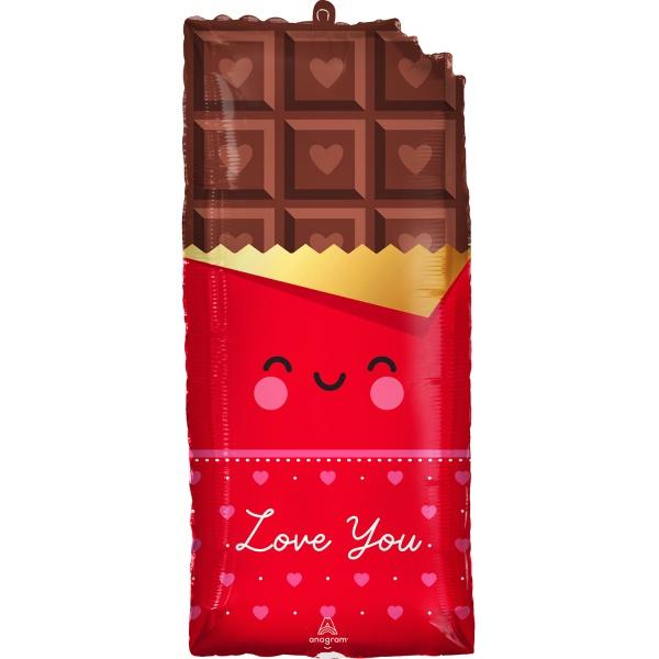 BALÓNEK fóliový Čokoláda Love You