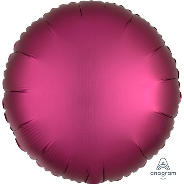 BALÓNEK fóliový Kruh Granátové jablko 43cm