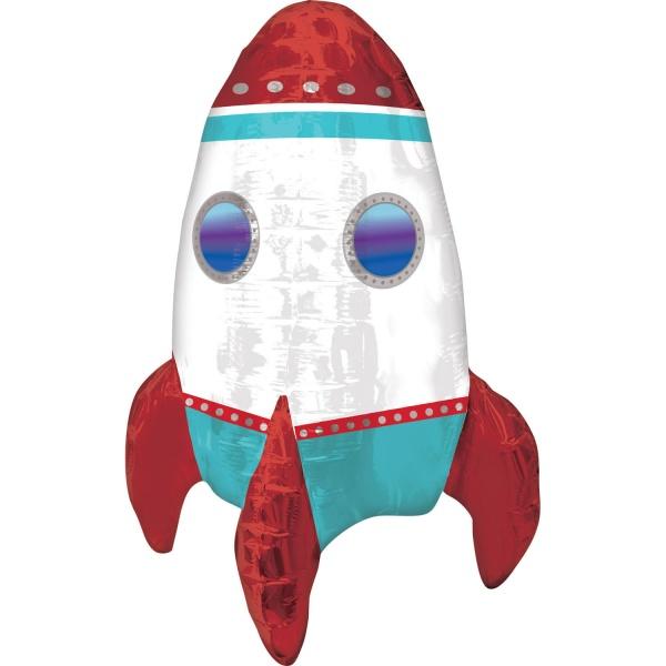 BALÓNEK fóliový Raketa 40x53cm