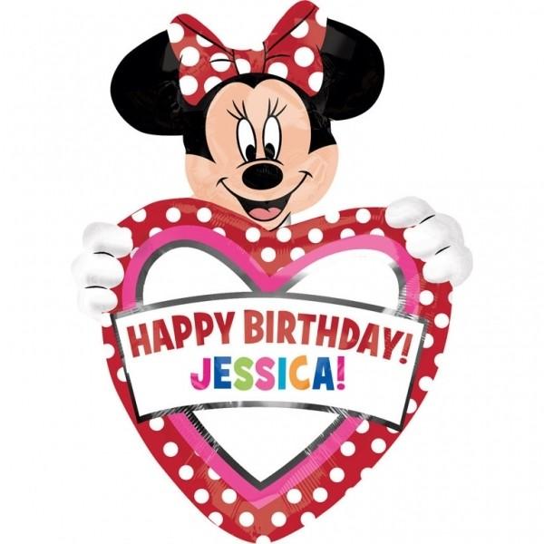 BALÓN fóliový supershape Minnie Mouse
