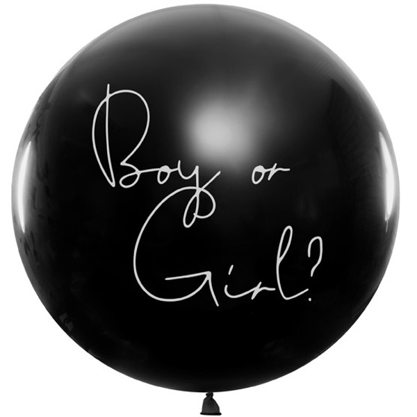 BALON Boy or Girl? Holčičí 1 m