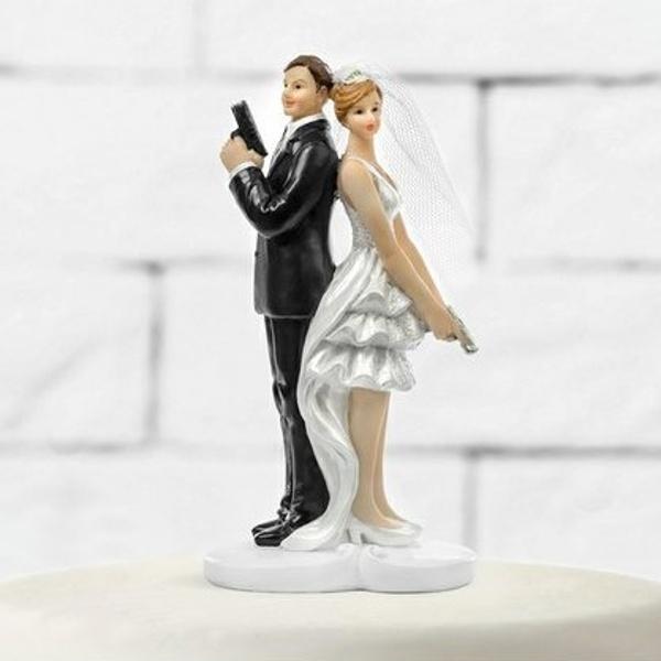 FIGURKA svatební Novomanželé 11cm
