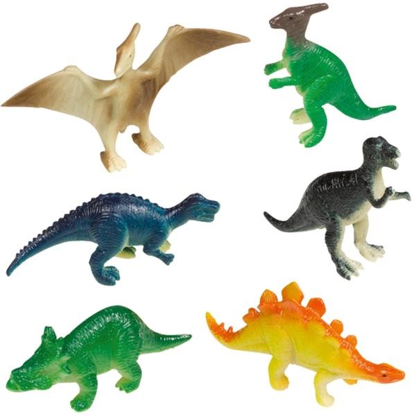FIGURKY Dinosauři 8ks plastové 5cm