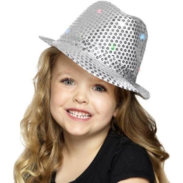 FLITROVÝ klobouk stříbrný - MojeParty.cz 83c39924d8
