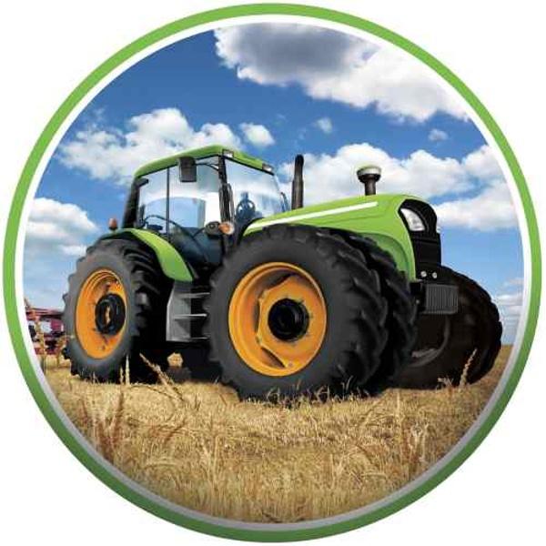 JEDLÝ PAPÍR na dort Traktor 16cm