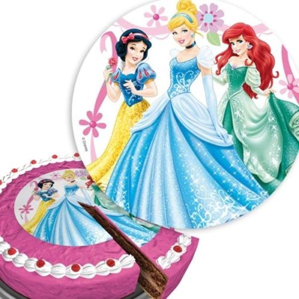 JEDLÝ papír na dort Disney princezny