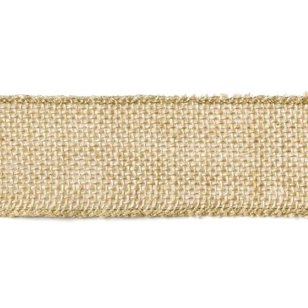 Jutová stuha široká 5x500 cm
