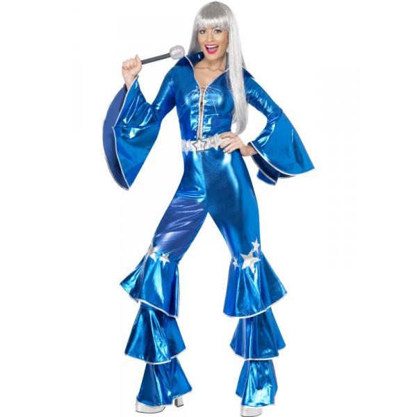 KOSTÝM 70.léta Dancing Dream modrý