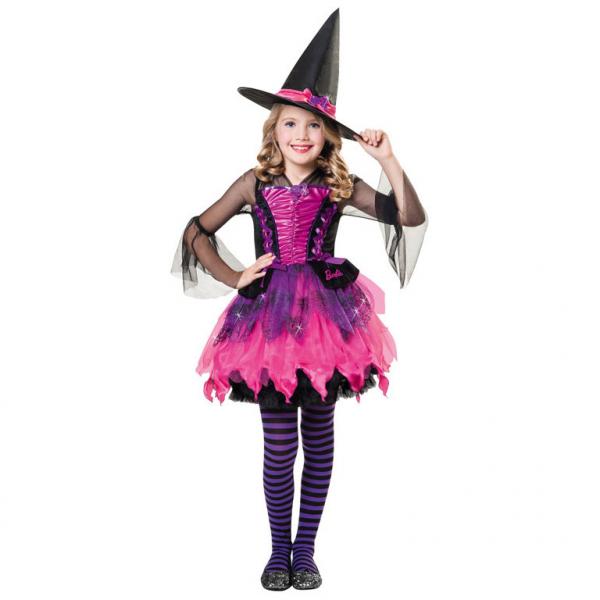 KOSTÝM Barbie Halloween 8-10let