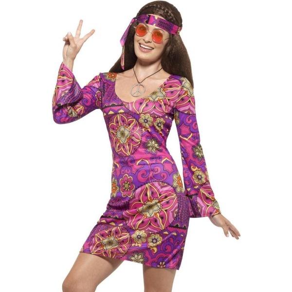 KOSTÝM Hippie dámský vel. S