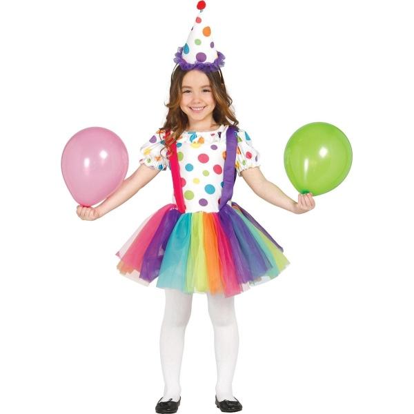 KOSTÝM Klaun dívčí 3-4 roky