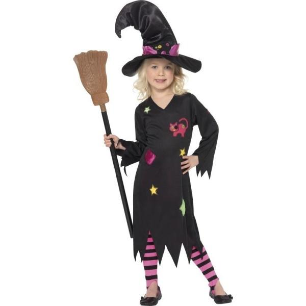 KOSTÝM Malá Čarodějnice vel.3-4 roky