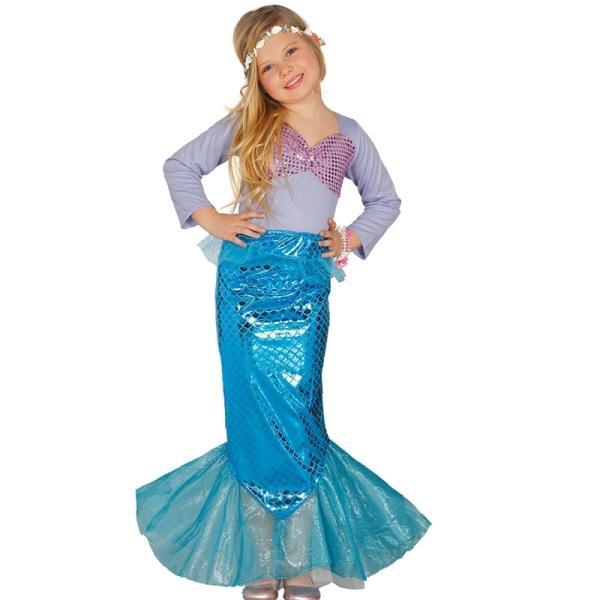KOSTÝM Mořská panna 5-6 let