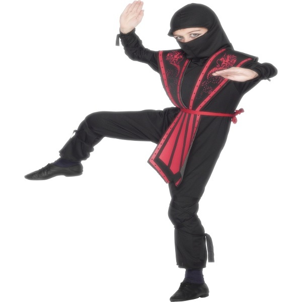 KOSTÝM Ninja 1ks