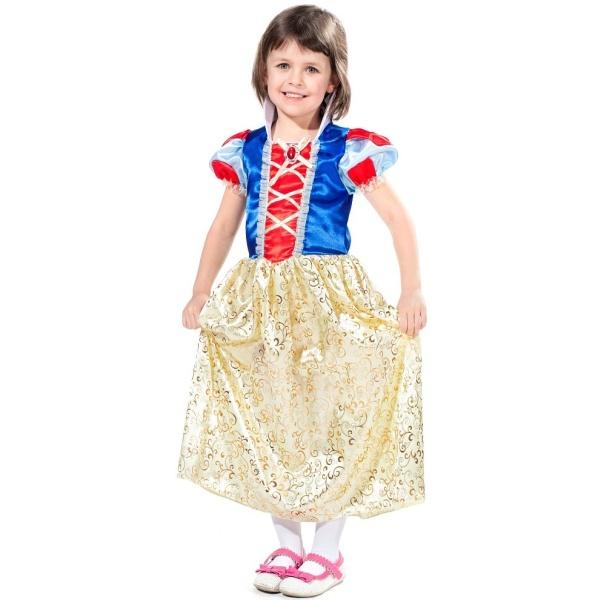 KOSTÝM Princezna vel.S 3-4 roky