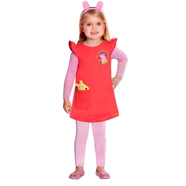 KOSTÝM Šaty Peppa 2-3 roky