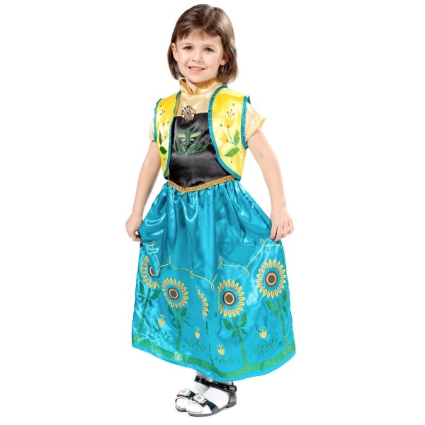 KOSTÝM dětský Princezna Anna
