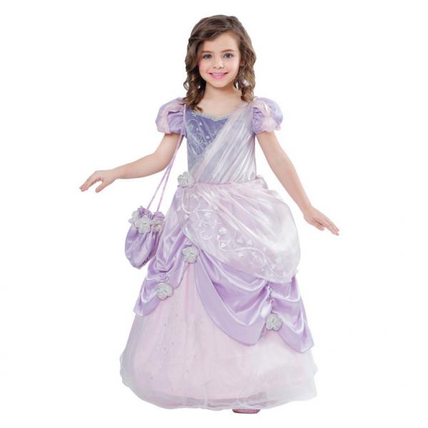 KOSTÝM princezna lila 3-5let