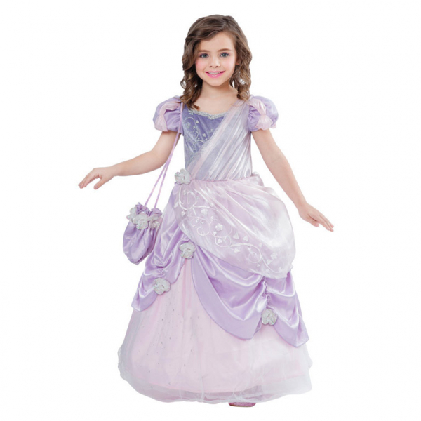 KOSTÝM princezna lila 8-10let