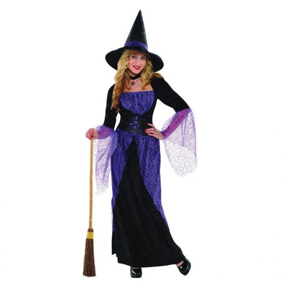 KOSTÝM čarodějnice, vel.M