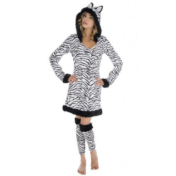 KOSTÝM dámský Zebra vel. S