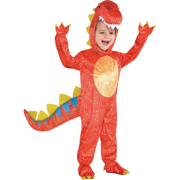 KOSTÝM dětský Dinomite 3-4 roky