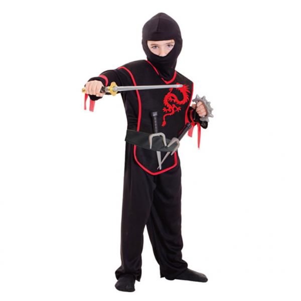 KOSTÝM dětský Ninja, 3-6 let