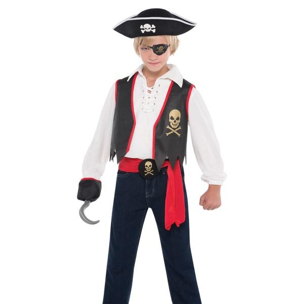 KOSTÝM dětský Pirát vel.8-10let