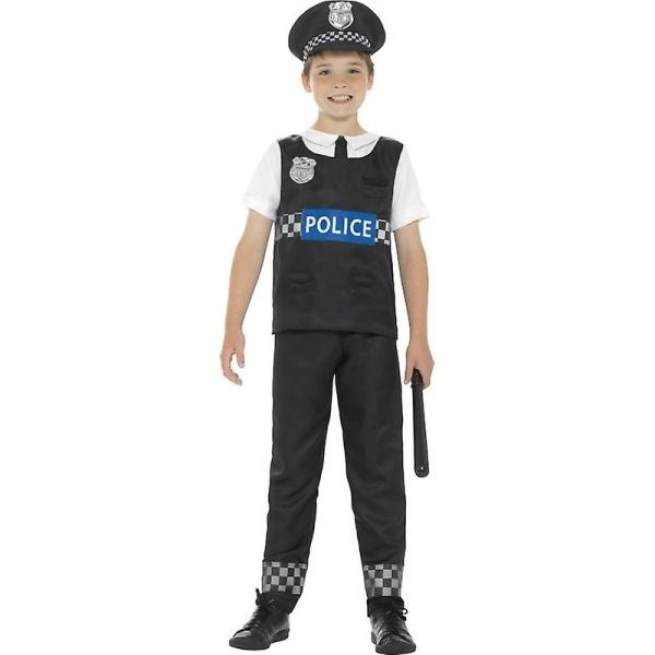 KOSTÝM dětský Policista černý